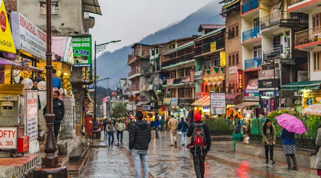 Mall Road -Manali Tour Travels